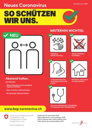 CORONA Informationen vom Hörzentrum Schweiz